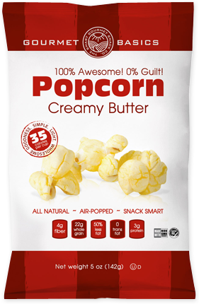 Awesome Popcorn Creamy Butter
