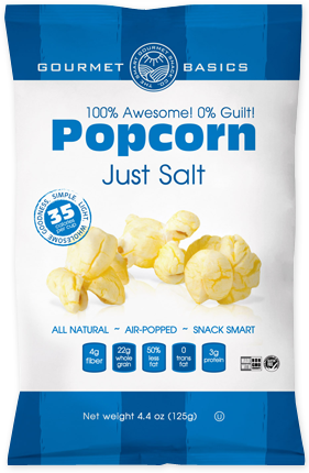 Awesome Popcorn Just Salt